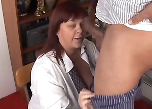 Heavy tits grown-up BBW loves to drag inflate load of shit