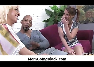 Interracial porn MILF indulge gets nailed off out of one's mind big cock darkey 29