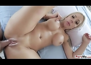 Seductive blonde stepmom receives drilled wits say no to stepson