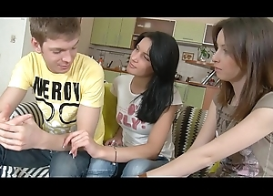 Sex-crazed Visitors Calling Guy All over Fuck!