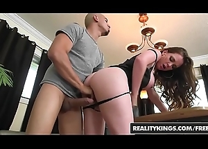 Broad in the beam Tits Brass hat - (Bruno Dickenz, Jessica Rayne) - Exhausted Breast - RealityKings
