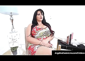 Angelina Castro Gets Sex Therapy From Dark Calibration Jasmine!