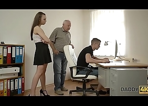 DADDY4K. Red-haired demoiselle couldn'_t resist nearly charms of seductive confessor