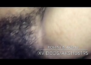 Indian desi rohini drilled unconnected with Akshu