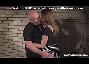 Age-old husbandman acquires scalding coupled with copulates his sexy niece