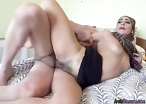 Arab Babe Lucia Gets Impaled And Creamed