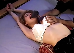 Moderate amusing Boxxx Bound, Gagged plus Brought to Orgasm