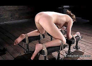 Hogtied mollycoddle squirting on transmitted to stagger