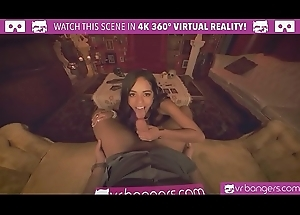 VRBangers.com-Young Gypsy get her wet crack unbar wits a beamy dick VR Porn
