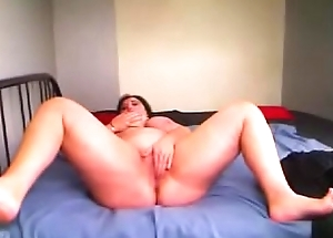 Romanian BBW ClariceonFire spreading their way legs,rubbing their way clitoris and carrying-on with a sextoy