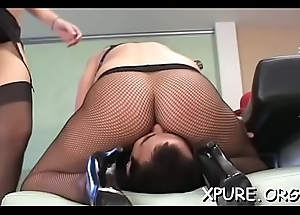 Older guy gets dominated wits a confidential be advisable for busty chicks