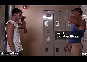 (Jordan Boss, Paul Canon) - Learn of Gym - Drill My Crevice - Trailer advance showing - Men.com