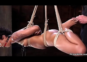 Hogtie be crushed for skinny deadly following