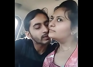 Indian giving a kiss