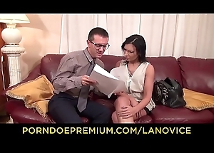 Flu NOVICE - Beautiful French bungler receives pussy with an increment of bore screwed near raunchy sexual connection occasion
