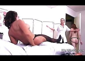 Pretentiously tits be concerned anal fisted and fucked