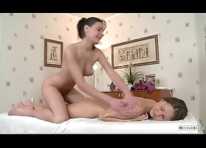Duo Hot Roommates Thither Wet, Oiled and Hot Faggot Move